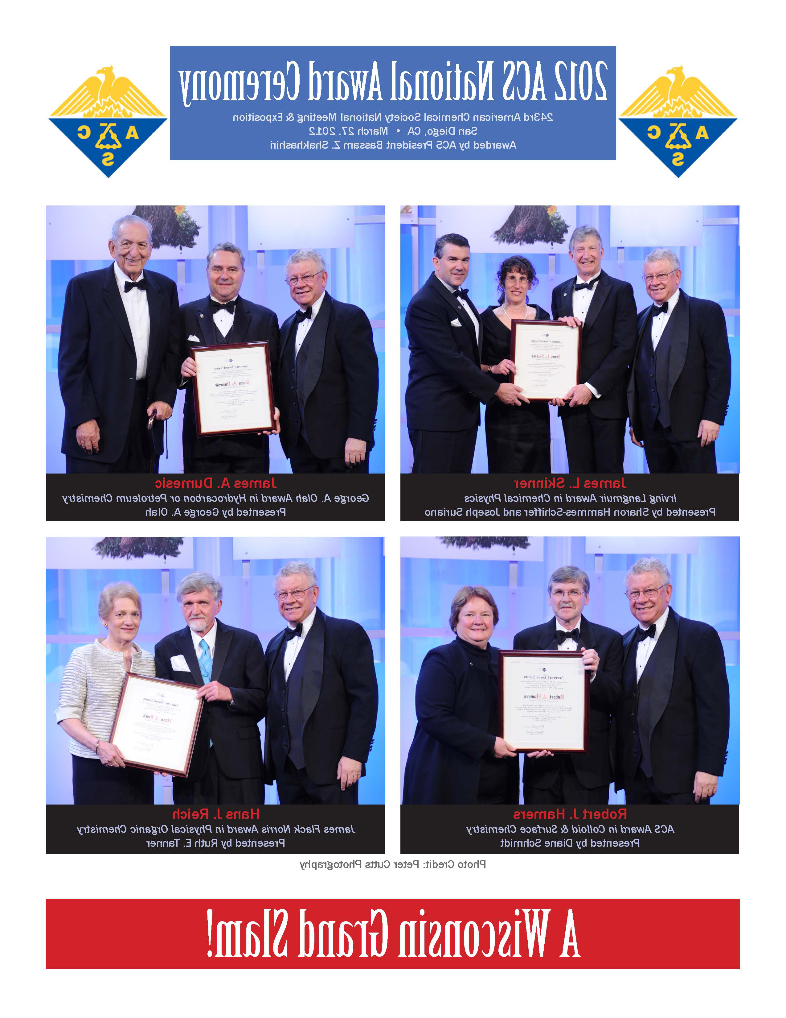2012 ACS Awardees