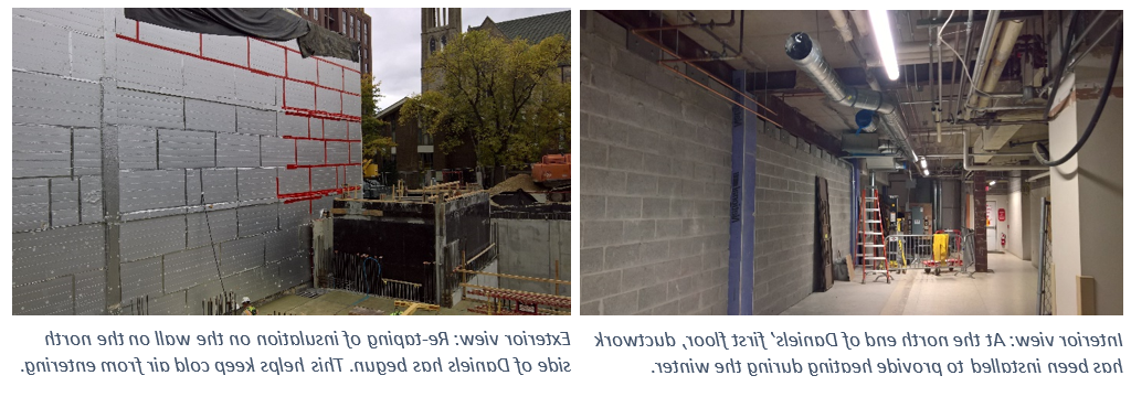 concrete walls and construction